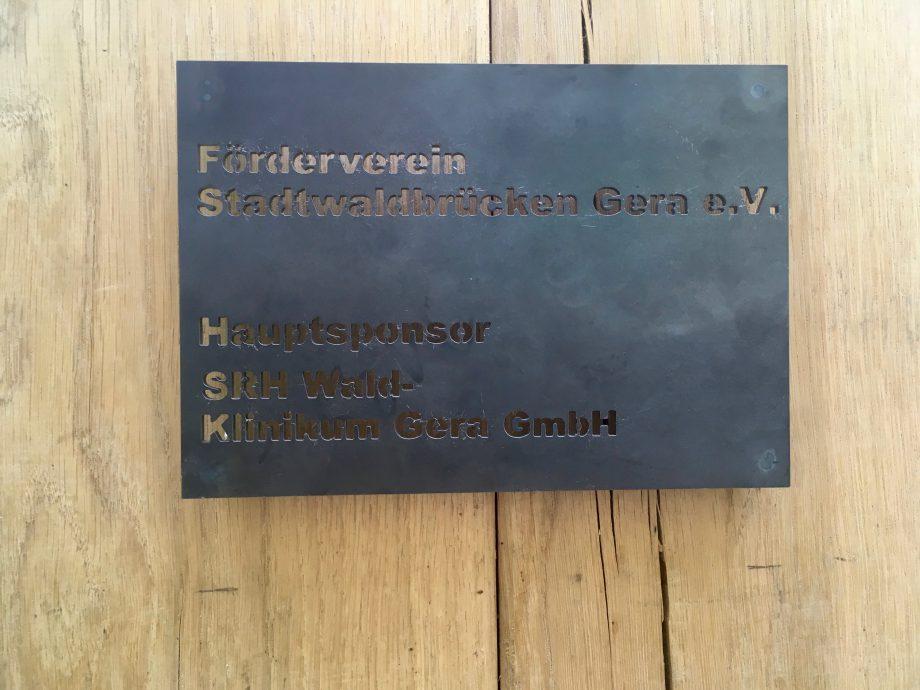 "Übergabe des 4. Stadtwaldtors ""AM KLINIKUM"""